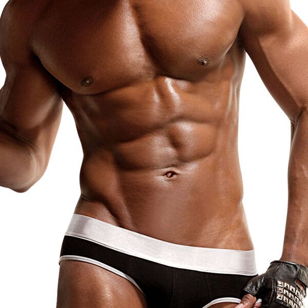 Jock extremadamente sexy. Disponible en color negro